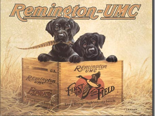 Remington Finder's Keepers Metal Sign #932