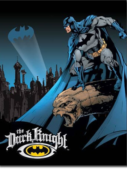 Batman - The Dark Knight Metal Sign #1356