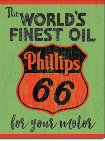 Phillips World's Finest Metal Sign #2313