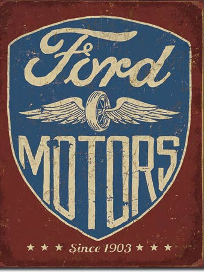 Ford Motors - Since 1903 Metal Sign #2205