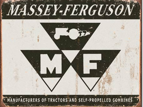 Massey Ferguson Logo Metal Sign #1504