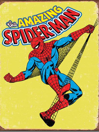 Spiderman Retro Metal Sign #1437
