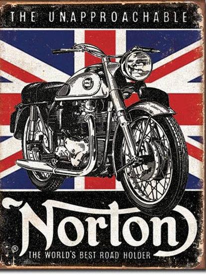 Norton Best Roadholder Metal Sign #1953