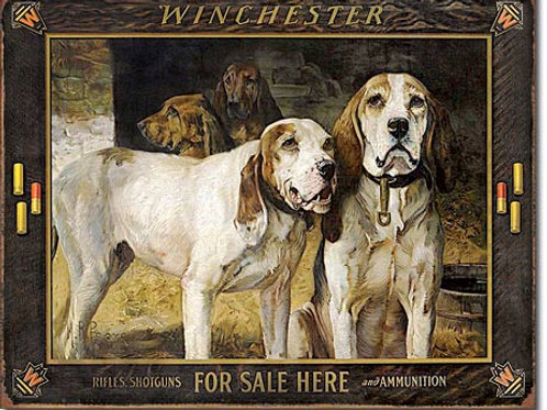 Winchester - For Sale Here Metal Sign #2176