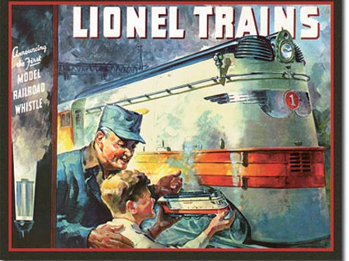 Lionel 1935 Cover Metal Sign #2283