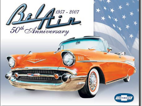 Bel Air - 50th anniversary Metal Sign #1395