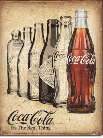 Coke - The Real Thing Metal Sign #2252
