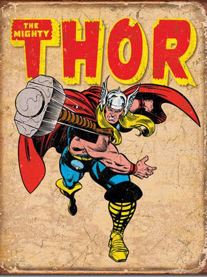 Thor Retro Metal Sign #1739