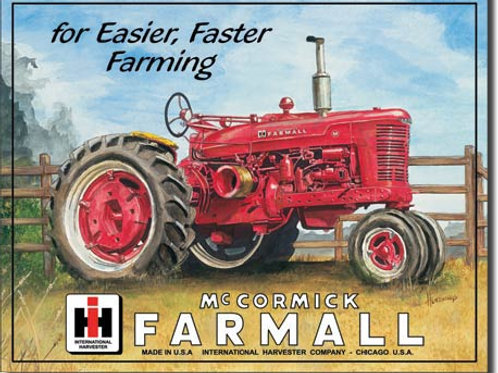 Farmall M Metal Sign #825