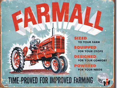 Farmall - Model A Metal Sign #1620