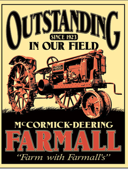 Farmall - Outstanding Metal Sign #2316