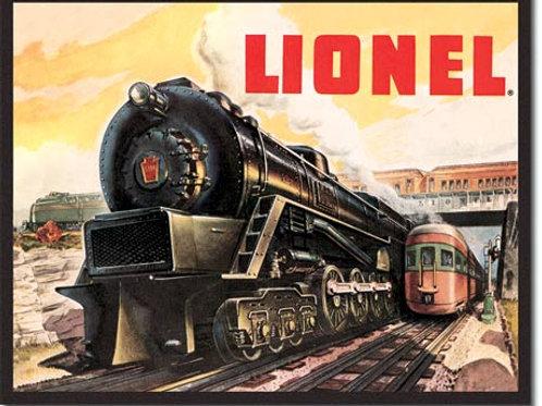 Lionel 5200 Metal Sign #2282