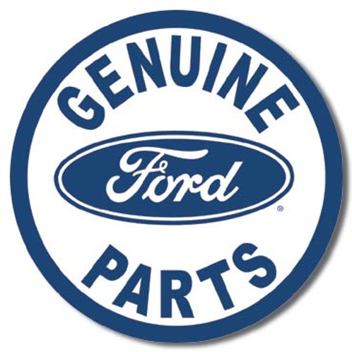Ford Parts Metal Sign #791