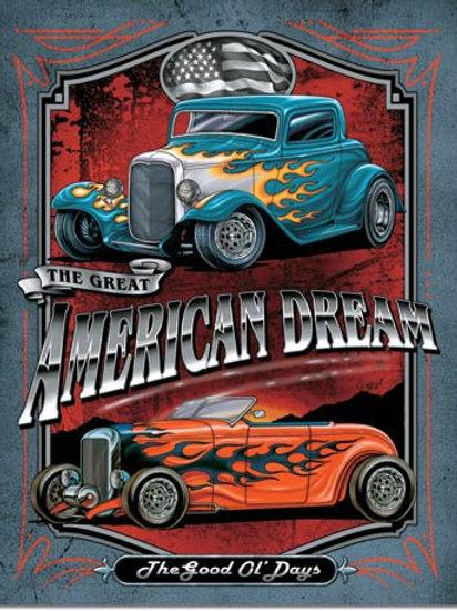 American Dream Metal Sign #1534