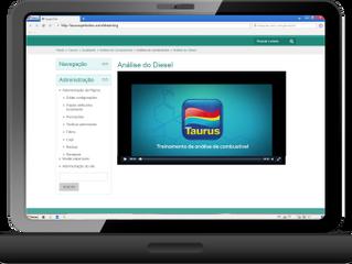 Tecnologia garante melhor  custo-benefício para capacitações  à rede de postos Taurus