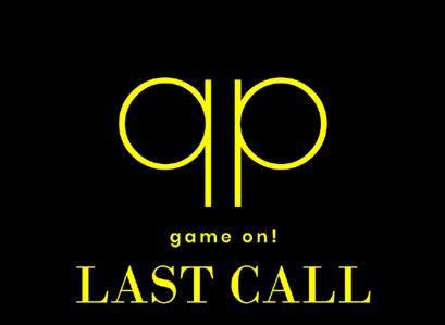 Season 108 - Last Call !!!