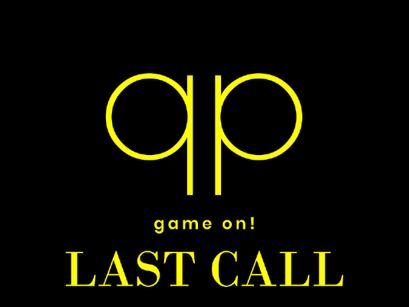 Season 111 - LAST CALL !!!