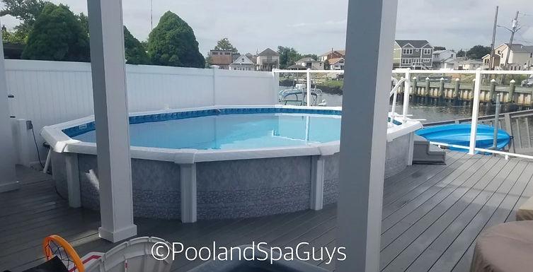 Pool and Spa Guys Farmingdale Pools Freeform Aboveground Semi Inground Spas Hot Tubs Jacuzzi Swimspa Chemicals Parts Aquasport Radiant Optimum Long Island Coast Spas