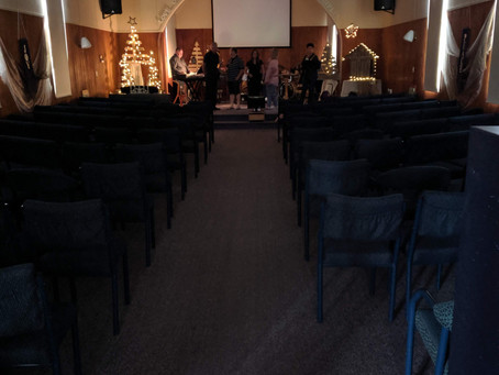 1 hour till the carol service. Hope to see you there - 8:30pm!