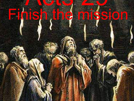 Acts 29 - Finish the Mission