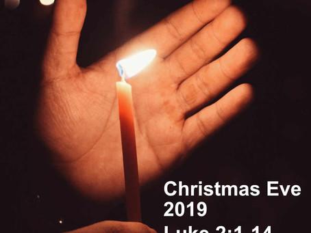 Christmas eve - Luke 2:1-14