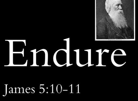 Endure - the story of John Paton