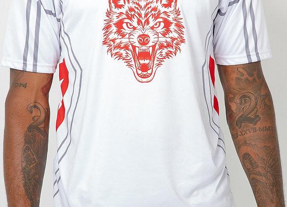 "DYD ""Soccer Elite Jersey"" White & Red"