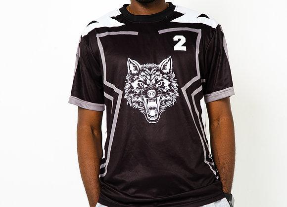 """DYD """"Soccer Elite Jersey"""" Black & White"""