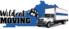 Wildcat Moving Logo with Blue and Black
