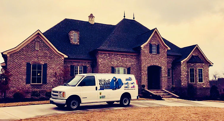Clean Team van in front of home.jpg