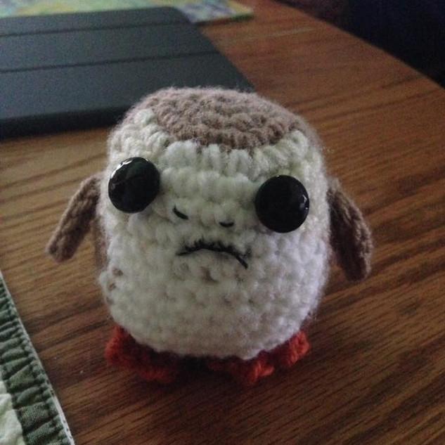 2017 Crochet Porg