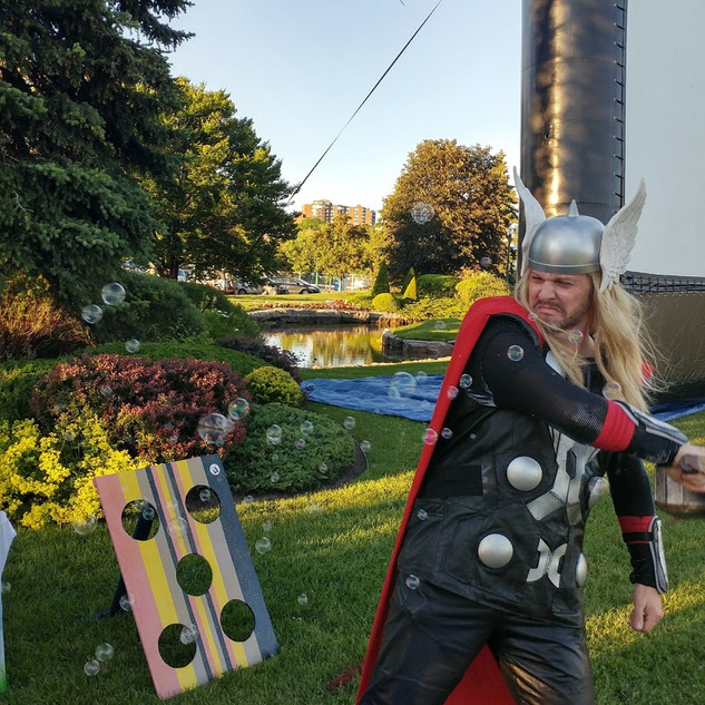 2017 Thor Vs Bubbles