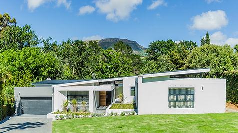 Modern minimalistic architectural designed home in Cape Town