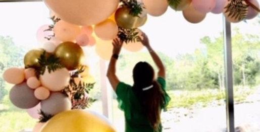 Installation Fee for Organic Balloon Garlands
