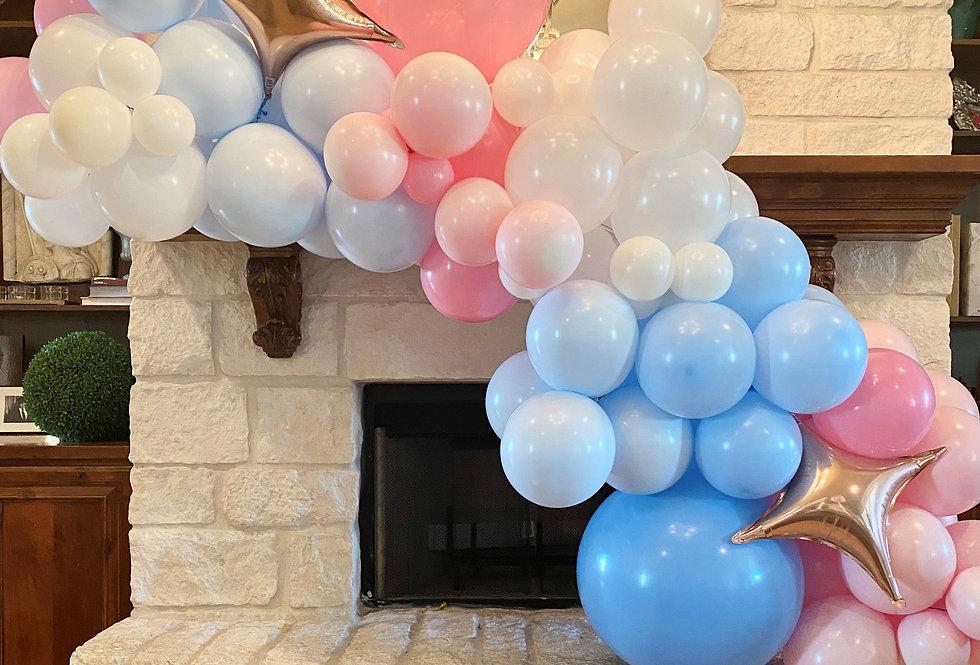 6 ft STANDARD Baby Gender Reveal Balloon Garland