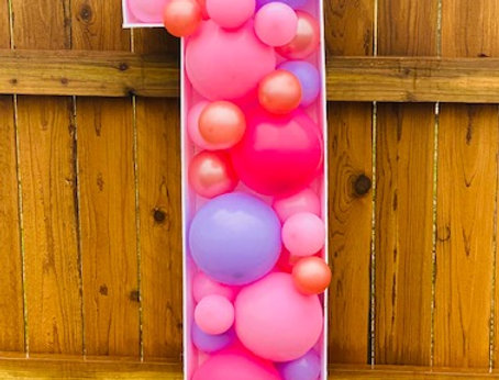 3 ft Balloon Mosaic Number