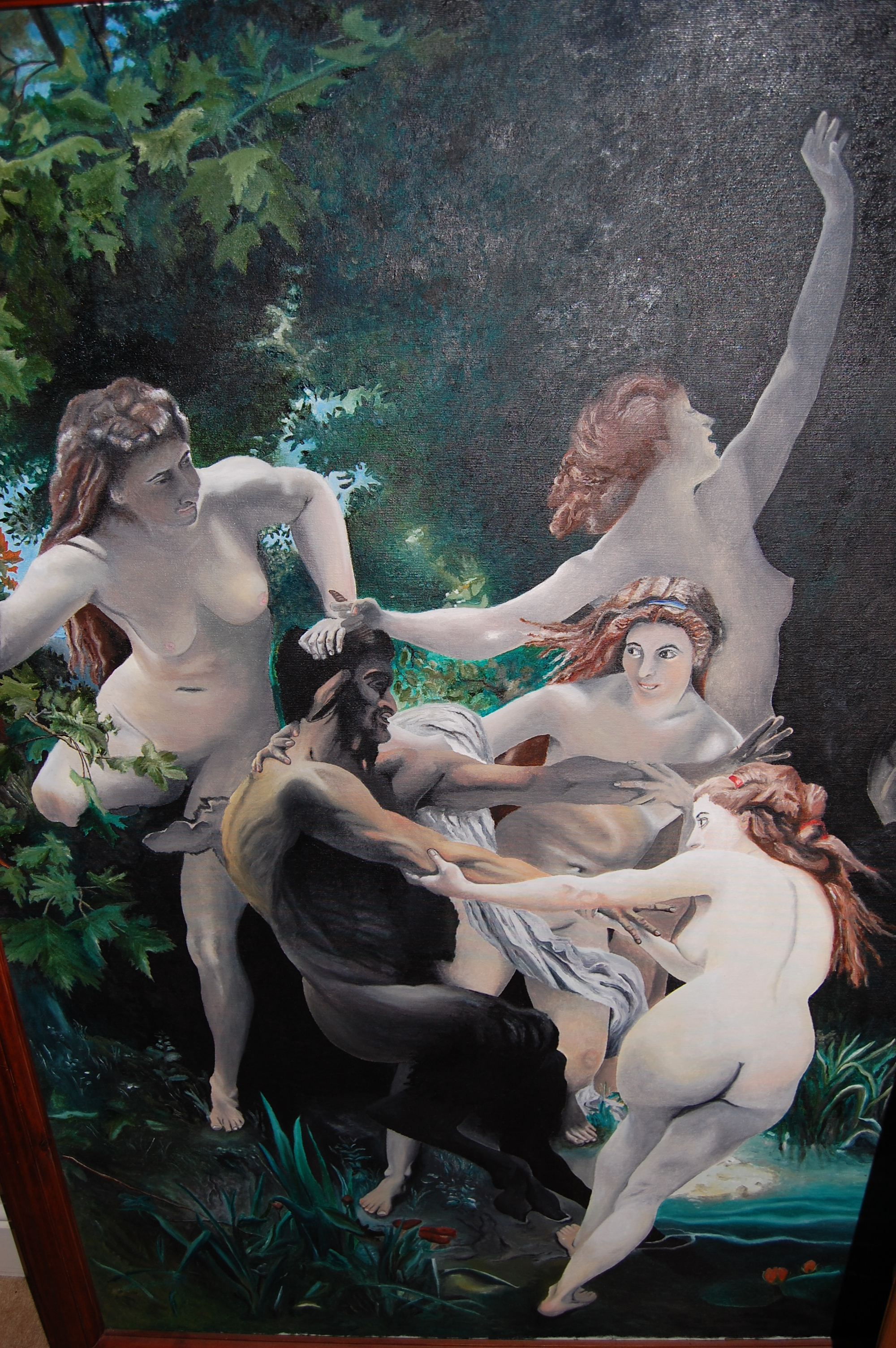 'Pan and Nymphs' copy