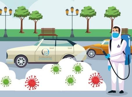 COVID-19   Limpieza y desinfección de vehículos   CDC