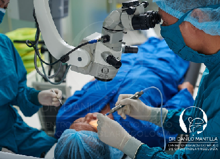 Mastoidectomía | Cirugía del colesteatoma | Quito - Ecuador
