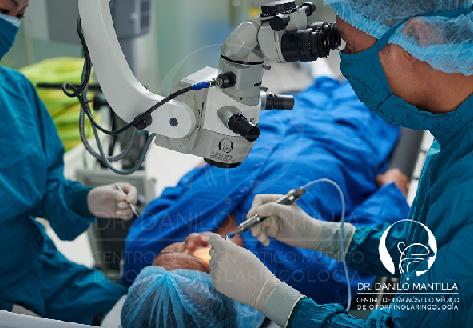 Mastoidectomía   Cirugía del colesteatoma   Quito - Ecuador