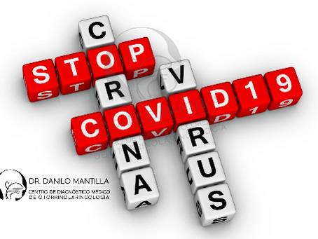 COVID-19. Evaluación de pacientes con infección respiratoria aguda