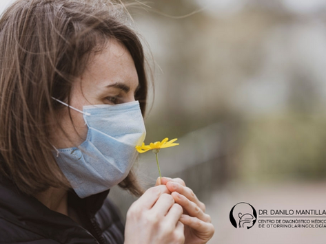 Disfunción en el gusto y olfato por COVID-19