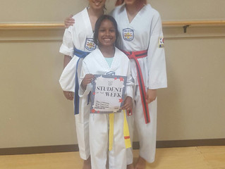 Student(s) of the Week - Anya, Arya, and Priya Mohammed