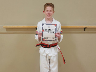 Student of the Week - Diego Conner