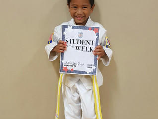 Student of the Week - Alexander Ocone