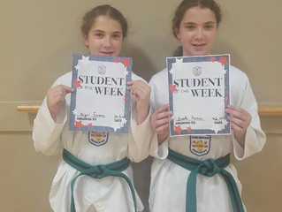 Student(s) of the Month - Abigail & Brooke Freeman