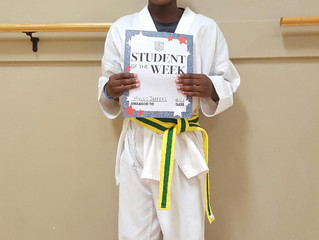 Student of the Week - Miles Jeffers!