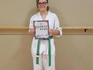 Student of the Week - Stefanie Spencer