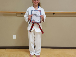 Student of the Week - Katherine Taylor