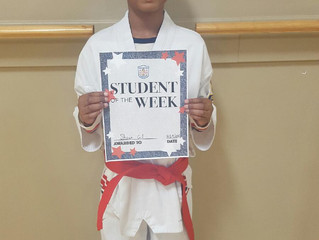 Student of the Week - Shawn Gill